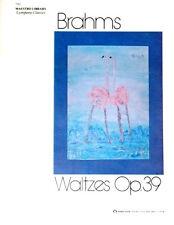 WALTZES Opus 39 - Brahms - Piano Solo