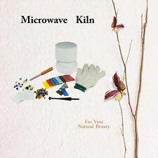 Fuseworks Beginner's Professional Fusing Microwave Kiln Kit (10pcs Accessories)