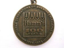 RARE 1965 HAMM'S BEER 100 Year Golden Anniversary Medallion Coin-FAST SHIPPING!