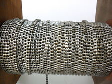 STAINLESS STEEL  ROLLER CHAIN  25-1  - PER FOOT