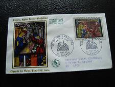 FRANCE - enveloppe 1er jour 7/10/1967 (eglise ste-madeleine troyes)(cy59) french