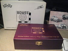 GMP - LIMITED EDITION 1:43 A.J. FOYT / BOWES SEAL FAST 3 CAR SET