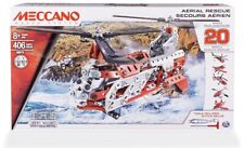 New Meccano Maker System Aerial Rescue-Pieces to make 20 Models Building Set