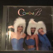 COMPANY B - Self-Titled   RARE ATLANTIC CD Fascinated Perfect Lover Full Circle