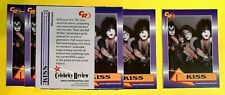 KISS - Rock Music Band - 2003 Rookie Review Trading Card