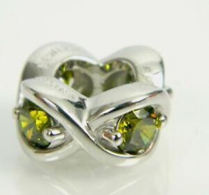 Jennifer Lopez ENDLESS Jewelry PERIDOT HEAVEN SILVER Sterling Charm #41400-3