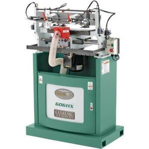 Grizzly G0611X 110V/220V 16-1/2 Inch Extreme Series Dovetail Machine