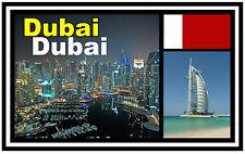 DUBAI - SOUVENIR JUMBO FRIDGE MAGNET - BRAND NEW - GIFT