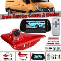 Caméra de recul arrière 3RD troisième feu stop moniteur Pour Renault Master
