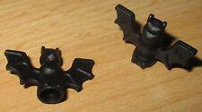 Lego Figuren-Tier Zubehör - 2x Fledermaus Schwarz 30103