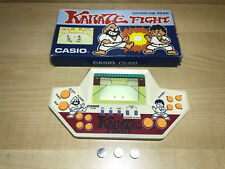 RARE WITH BOX Casio LCD Karate Fight CG-610 Game & Watch