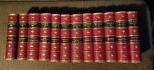 Sir Walter Scott WAVERLEY NOVELS 12 Vol Set Adam and Charles Black 1862 LEATHER