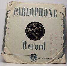 """KANUI & LULA : TOMI TOMI / OUA OUA 78 rpm 10"""" Record"""