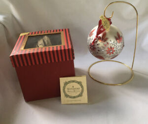 Waterford Christmas Holiday Heirlooms Limited Ed Ornament Starburst Sparkle Ball