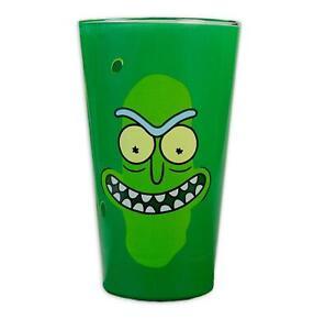 Rick Und Morty Glas aus Glas Pickle Rick Grün 15 CM Vase GB Eye Serie TV