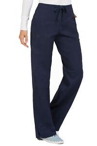 Med Couture Women's 8705 Drawstring/Elastic 3 Pocket Scrub Pant -NEW-FREE SHIP