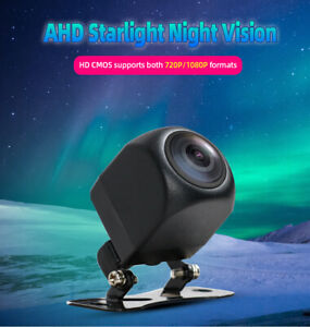 AHD Car Backup Camera Waterproof Plate Rear View Night Vision Reverse 1080P 720P