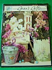 ROS STALLCUP GRAN'S GIFTS  SCHEEWE 1997 FLOWERS GARDENS TOLE PAINT BOOK