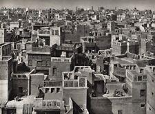 1928 Original INDIA Lahore Roof Architecture Cityscape Photo Art By HURLIMANN