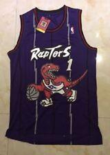 Tracy McGrady Toronto Raptors #1 Purple Swingman Basketball Jersey S Small