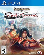 Samurai Warriors Spirit of Sanada (PlayStation 4) BRAND NEW / Region Free