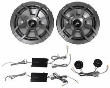 "KICKER 43CSS654 6.5"" 6-1/2"" 600 Watt 4-Ohm Car Audio Component Speakers CSS65"