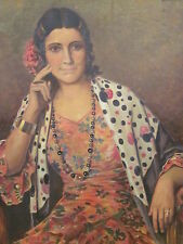 Oil Painting Signed Paul Mattig, likely pseudonym for Eugene Galien-Laloue