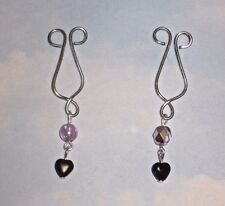 THE   LOVELY TO LOOK AT  INTIMATE  NON PIERCING NIPPLE  SLIDE  JEWELRY