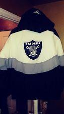 Vintage Apex La Raiders Throwback Windbreaker Parka Starter Jacket Large New! NW