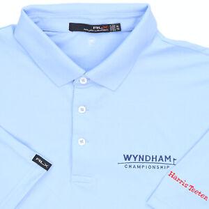"RLX Ralph Lauren Men XL 53"" Wyndham Championship Polo Shirt Golf Harris Teeter"