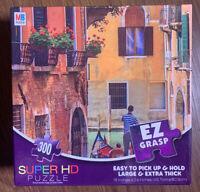 Super HD 300 Extra Large Thick EZ GRASP Piece Puzzle Of Venezia Venice Italy Euc