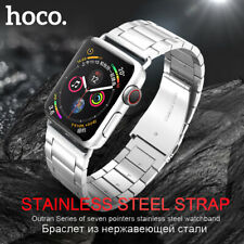 HOCO Genuine Stainless Steel Buckle Watch Strap For iWatch Series 1 2 3 38/42 mm