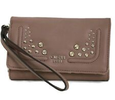 Authentic Guess HB Athina slgs Phone Organizer, Mushroom GS653242-MSH