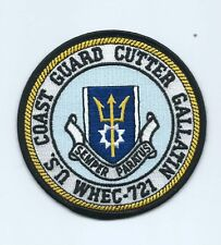 United States Coast Guard USCG Cutter Gallatin WHEC 721 patch 4 in dia