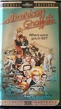 American Graffiti (VHS, 1998, 25th Anniversary Edition, Classic Clamshell)