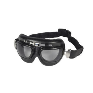 Vintage Motorcycle Goggles Eagle Eyes  - Clear Lens
