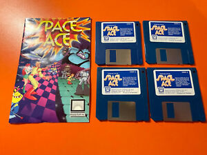 SPACE ACE - ATARI ST - @LOOK@ NO BOX - DISC MANUAL ONLY