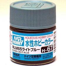 GSI CREOS GUNZE MR HOBBY AQUEOUS COLOR ACRYLIC H67 RLM65 Light Blue PAINT 10ml
