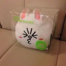 Korea Naver LINE Friends Cute Cony Head Phone Holder Mascot Gift L324