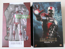 HOT TOYS IRONMAN 2 MARK V 5 TONY STARK MMS145 1/6 ORIGINAL MISB RARE LAST NEW