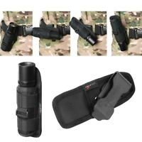360 Degree Rotating Flashlight Holder Holster for Surefire G2 6P Belt Airsoft