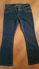 GUESS Jeans RIVIERA size 30 x 31 Dark Wash Boot Flare