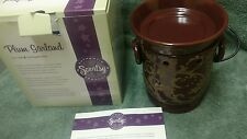 Full-sized Scentsy Warmer - Plum Garland - New in Box