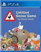 Untitled Goose Game - Sony PlayStation 4 [PS4 Puzzle Adventure Comedy Game] NEW