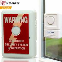 Defender Window Alert Vibration Alarm - Smashed Glass Alarm - Window Alarm -