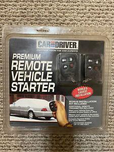 Car & Driver Premium Remote Vehicle Starter Installation Kit Brand New RS1200EP