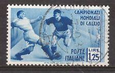 REGNO - 1934 2° CAMPIONATO MONDIALE DI CALCIO - 1,25 L. USATO