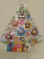 Tsum Tsum Disney Holiday Gift Set 7 Pieces Christmas Tree Tsparkle Mickey NIB