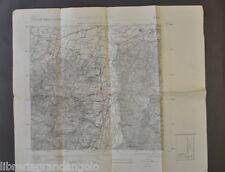 Cartografia Carta Tavoletta IGM Geografico Militare Casalecchio Reno 1911