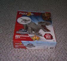 MB JURASSIC WORLD INDOMINUS REX PUZZ 3D FOAM BACKED 77 PC PUZZLE
